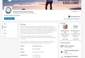 EPG LinkedIn Business Profile