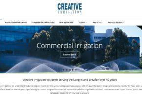 Creative Irrigation Website Redesign