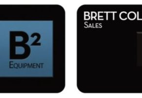 B2 Logo and Business Card