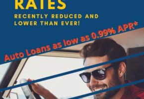 Credit Union Branch Flyer - Rates