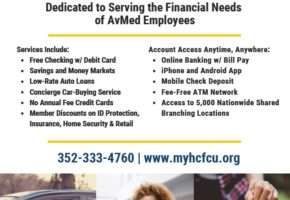 Credit Union Flyer - Benefits Fair